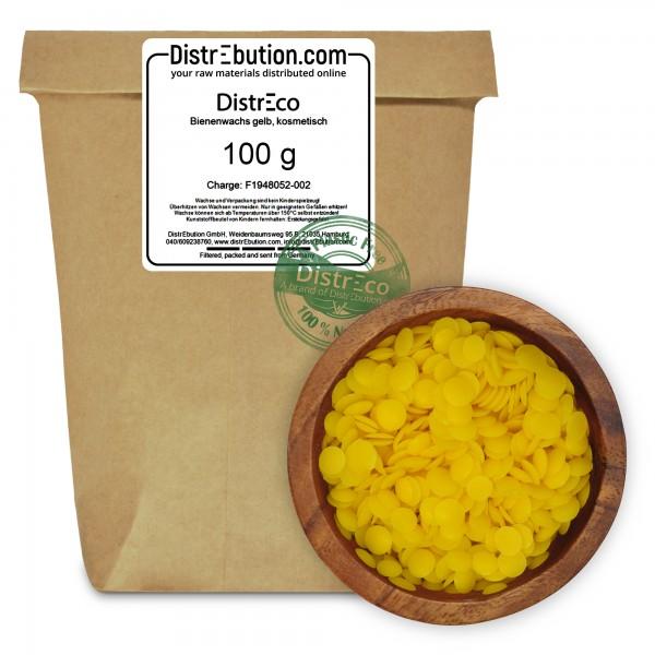 - DistrEco - Bienenwachs gelb, kosmetisch (100 g)
