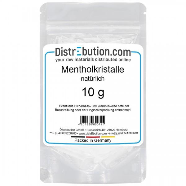 Mentholkristalle, aus natürlichem Minzöl (10 g)