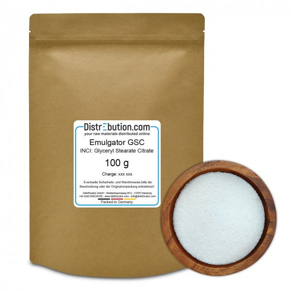 Emulgator GSC (Glyceryl Stearate Citrate) (100 g)