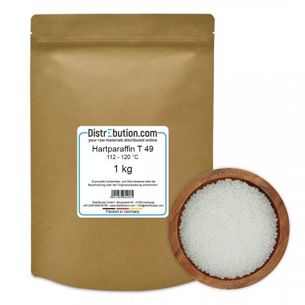 Hartparaffin T 49, 112 - 120°C (1 kg)