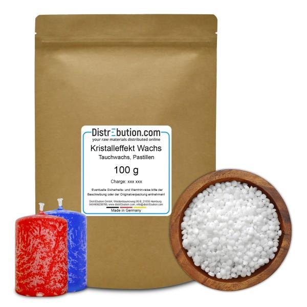 Kristalleffektwachs, Tauchwachs in Pastillen (100 g)