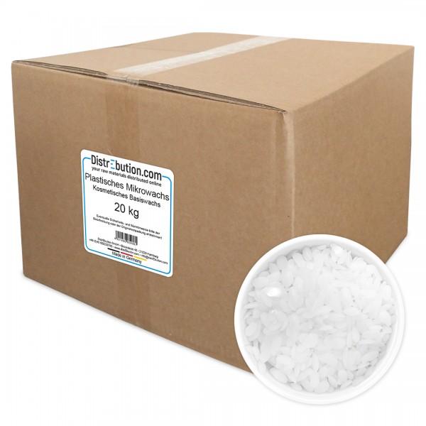 Plastisches Mikrowachs, kosmetisches Basiswachs (20 kg)